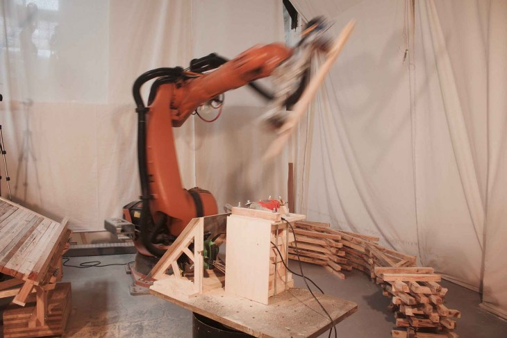 Robotic Fabrication _ IAAC