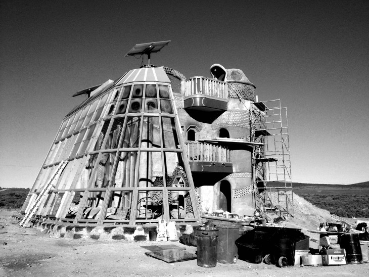 Earthship 'the Towers'