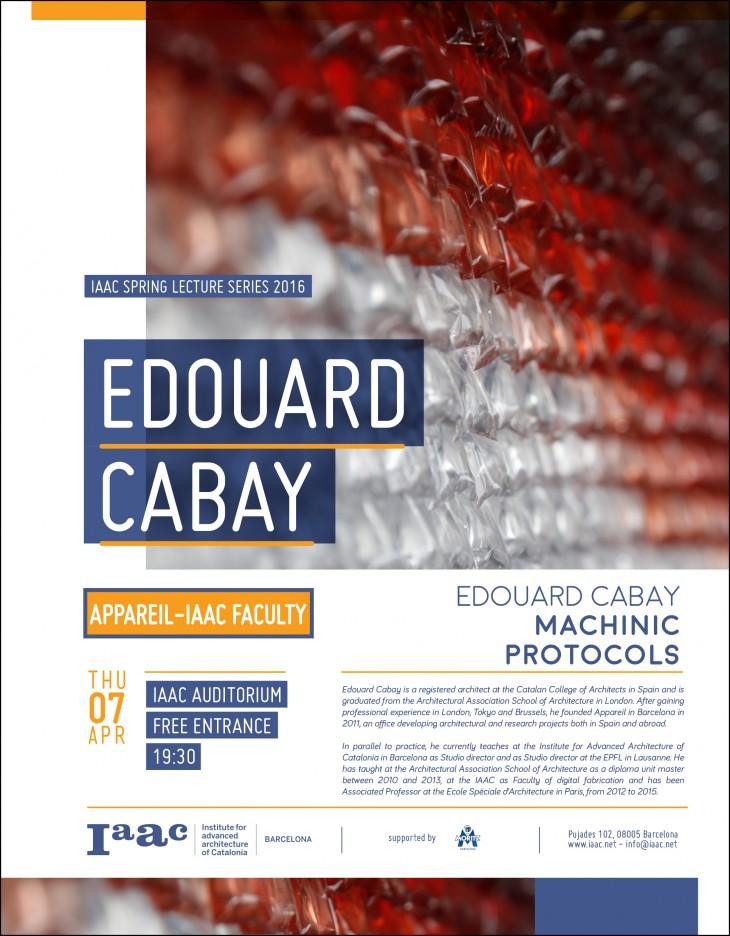 Edouard Cabay IAAC