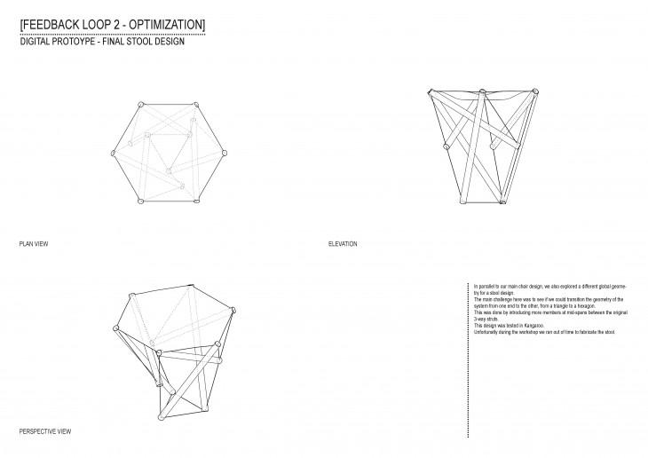IAAC_Data Informed Structures Tensegrity Chair_12_Digital Prototype Final Stool Design