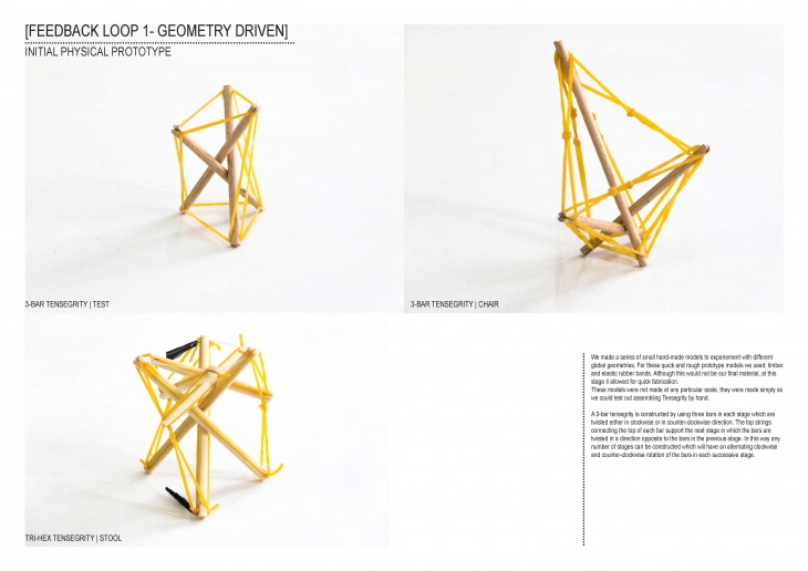 IAAC_Data Informed Structures Tensegrity Chair_5_Initial Physical Prototype
