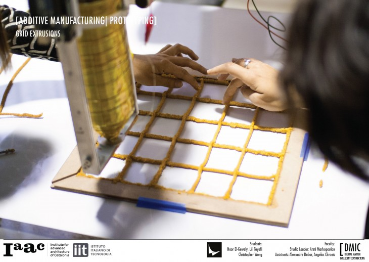 IAAC_Piel Vivo_22_Additive Manufacturing Grid Extrusion