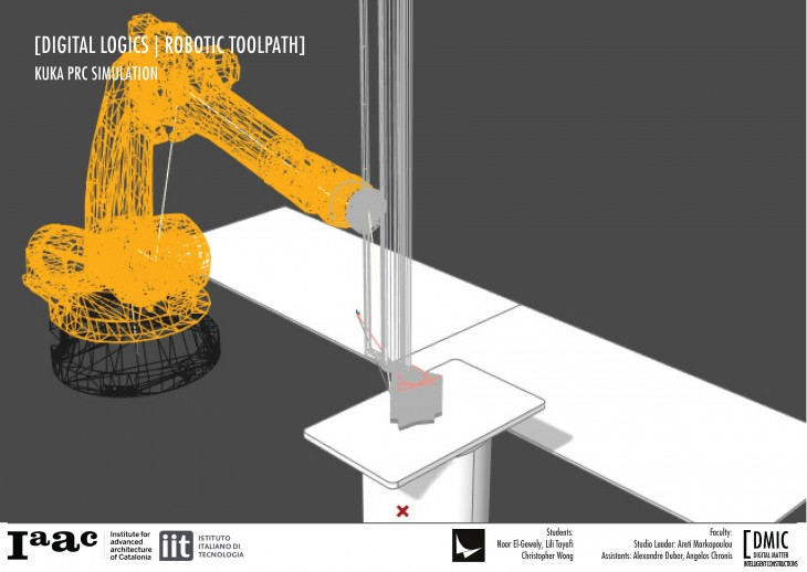 IAAC_Piel Vivo_28_Digital Logics Robotic Toolpath Kuka PRC