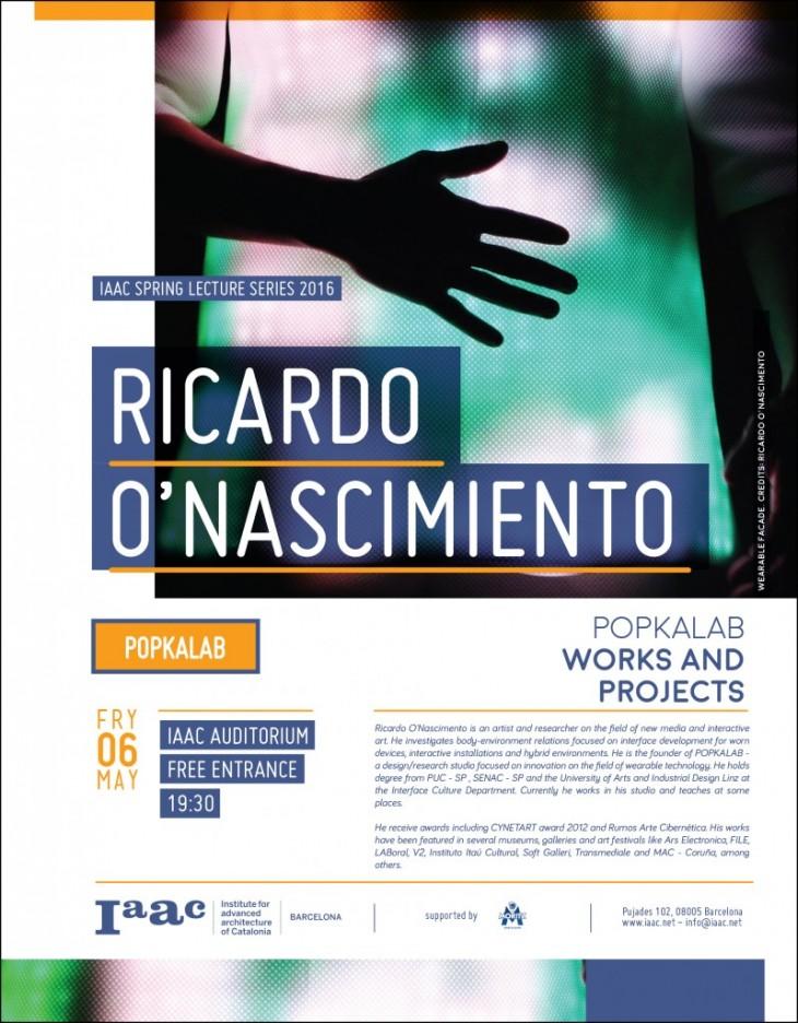 Ricardo-Onascimiento iaac lectures