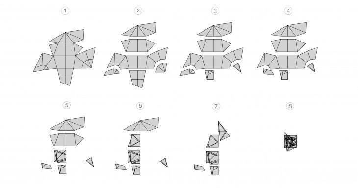 Folding strategy