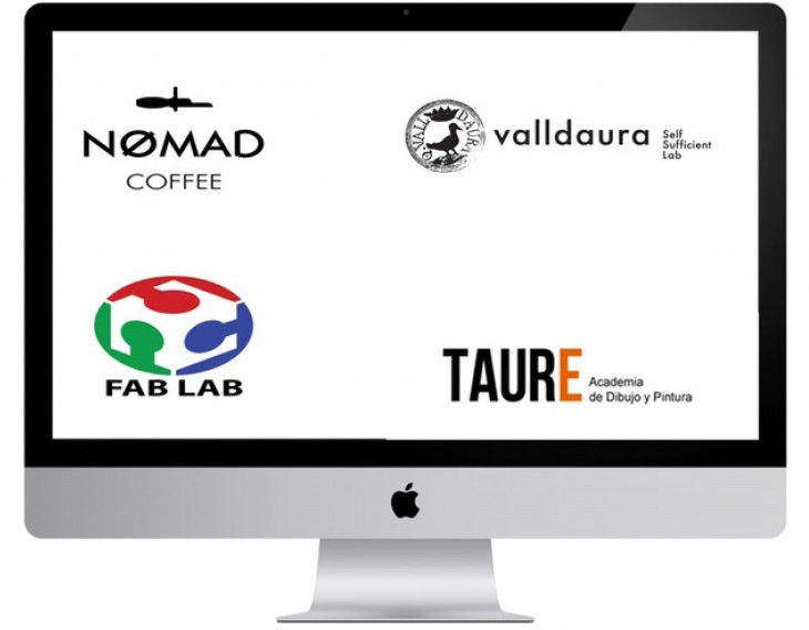Collaborations with Nomad Cafe, Valldaura, Fab Lab and Taure