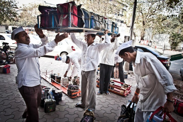 Dabbawala(lunch delivery system in India)2
