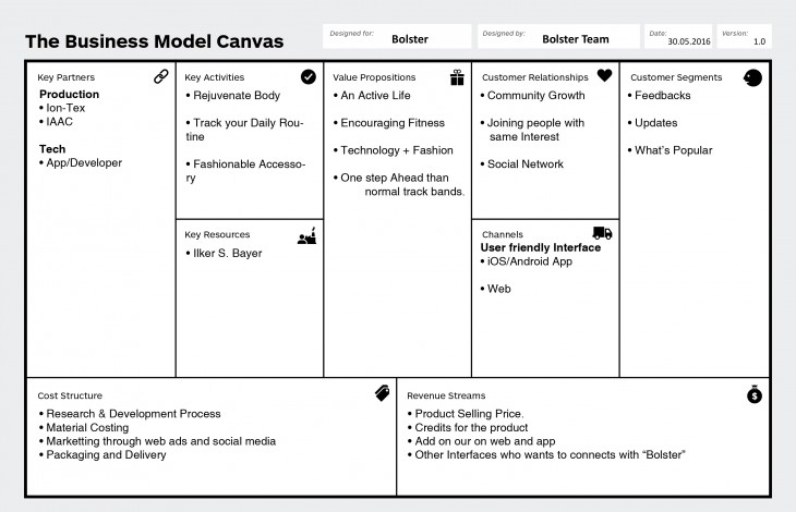 IAAC bolster_Buisness model