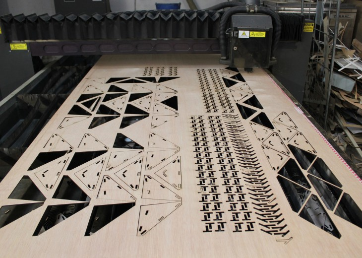 laser cutting for wood