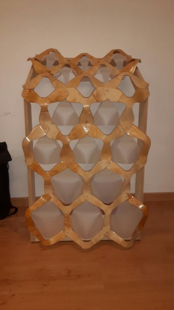 IAAC_Hexagrid facade