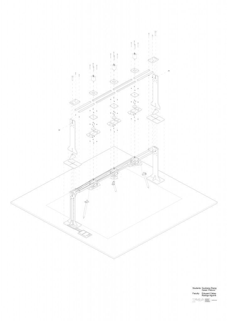 IAAC_Drawing Machine_Isometric Drawing