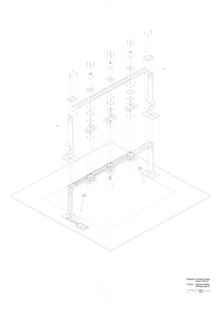 IAAC_Drawing Machine_Isometric Drawing
