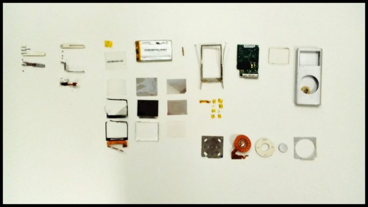 iPod Nano Disassembled