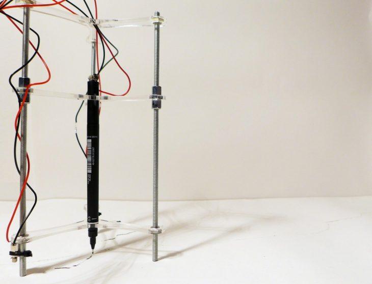 machine, pen, automated drawing, arduino