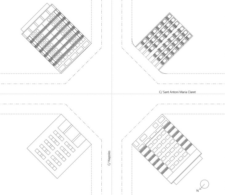 elevations-eixample-mapping