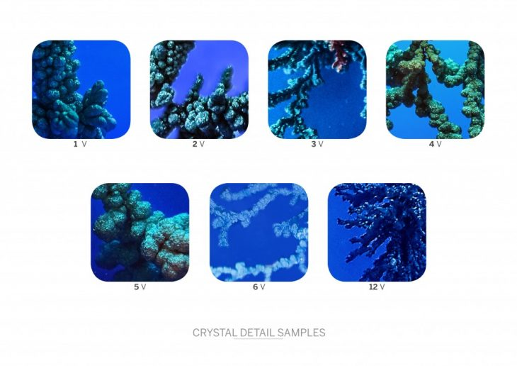 Crystals Growth Comparison