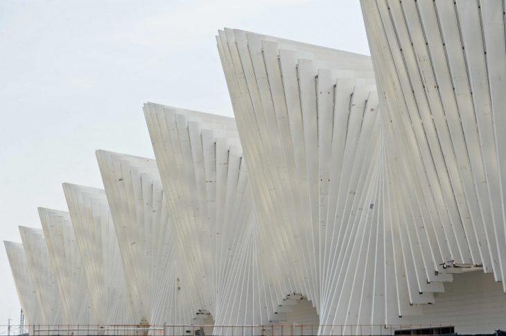 Parametric Facade Mediopadana Station Iaac Blog