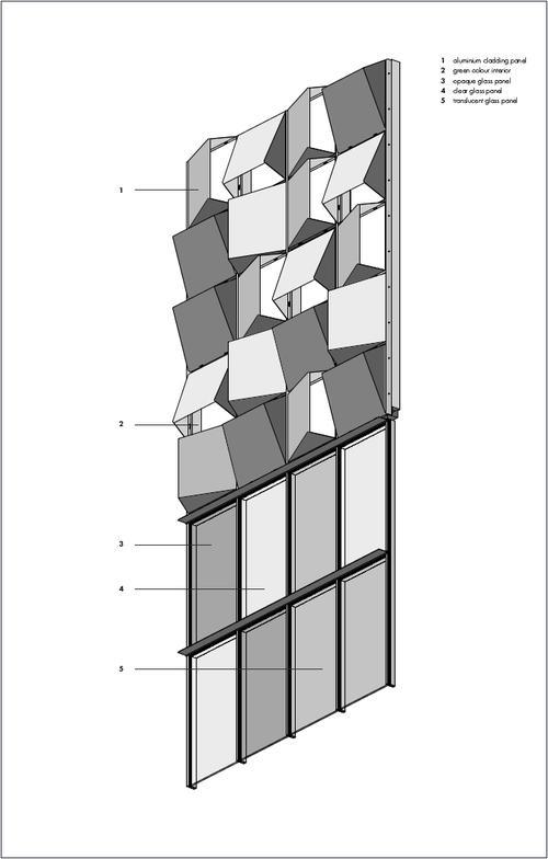 Scheme / Parametric facade - Daniil Koshelyuk, IAAC, MAA01, SO.3