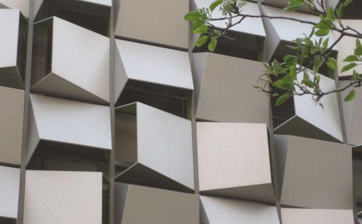 Detail / Parametric facade - Daniil Koshelyuk, IAAC, MAA01, SO.3