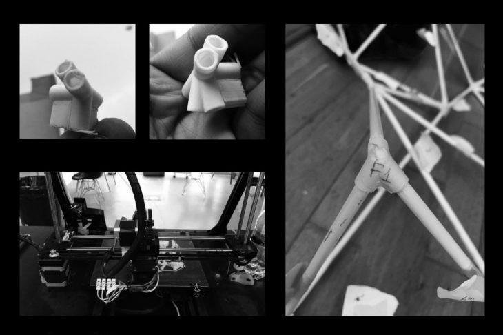 Process - Foggy Spaceframe / Digital Fabrication IAAC