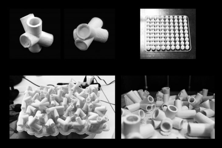 Process 2 - Foggy Spaceframe / Digital Fabrication IAAC