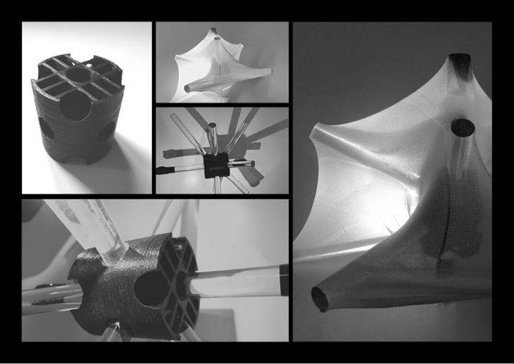 Prototype 1 - Foggy Spaceframe / Digital Fabrication IAAC