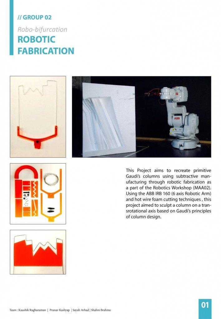 Robotic Fabrication Iaac Blog