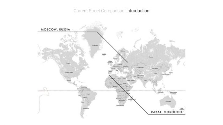World Map - Wide Street / Urbanization.org