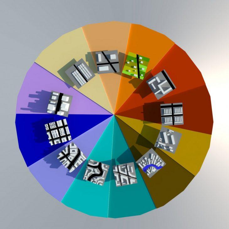 Common Fabrics Color Wheel