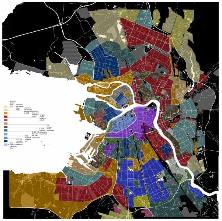 Urban Fabrics Map