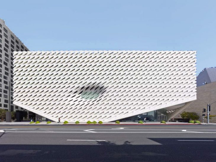 Parametric Facade of Broad Museum