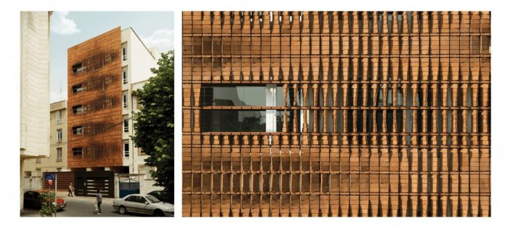 Parametric Facade Inspired by the Cloaked in Bricks Facade in Iran