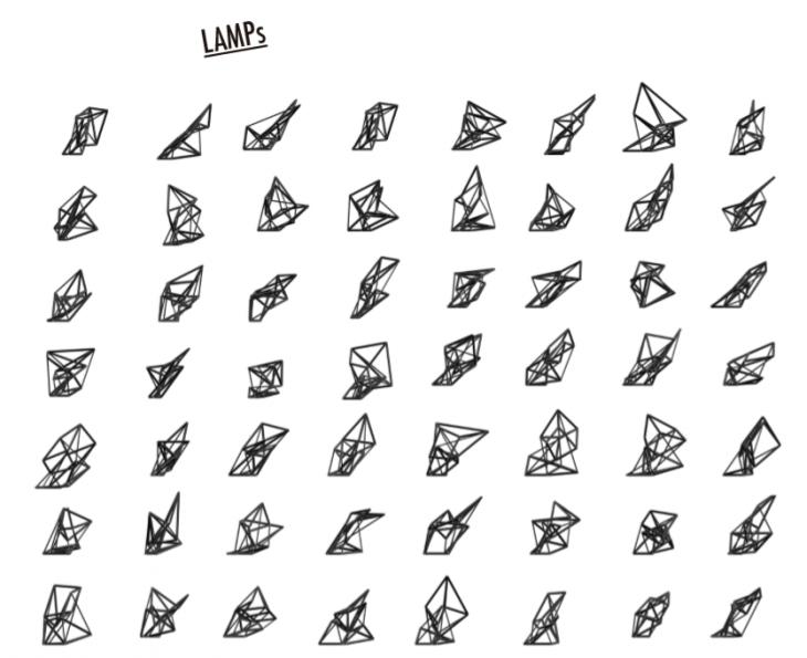 grasshopper, lamps, hypercube