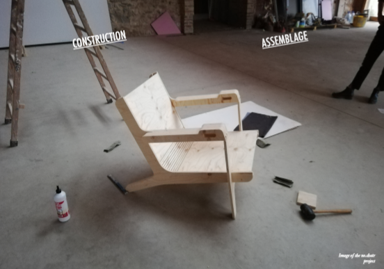 chair, cnc, plywood