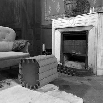 final cardboard stool
