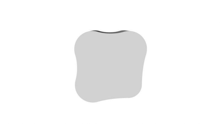 stool, cardboard, render