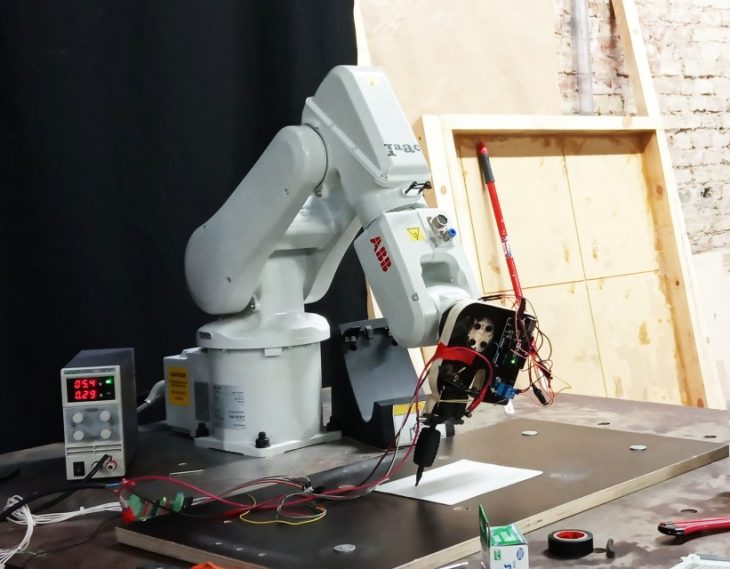 Robotic arm tattooing machine – IAAC Blog
