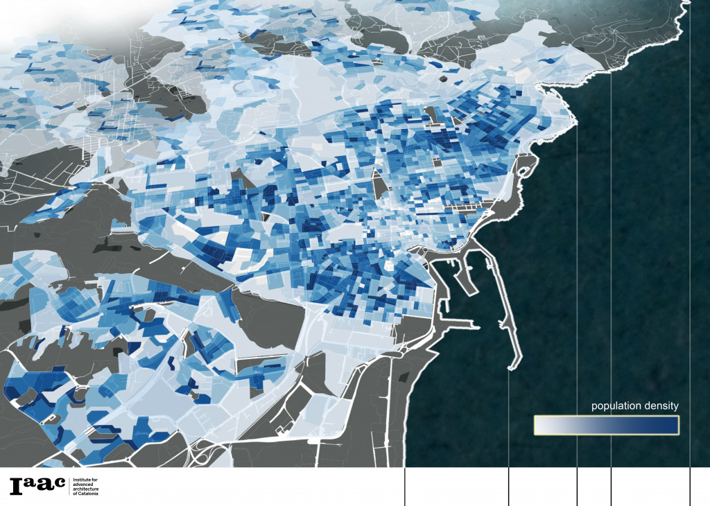 map urban density population Simone Grasso Matteo Murat