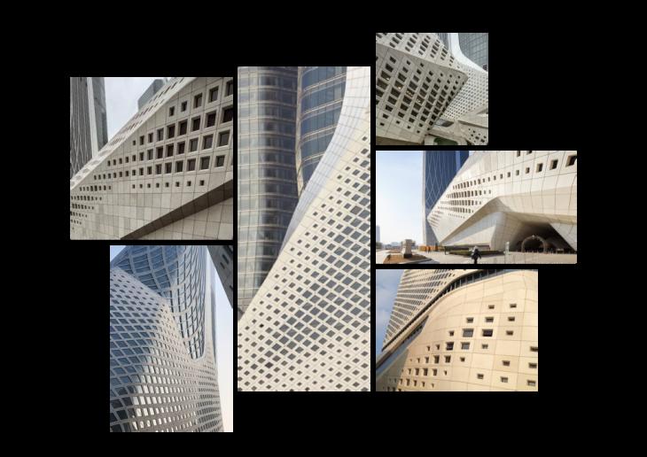 Zaha hadid, parametric study, pattern growth, pattern study