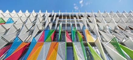 Syddansk Universitet en Kolding (Kolding, Denmark) 2014 Henning Larsen Architects, kajal unahariya, computational design, rhino , grasshopper, laser cutting,