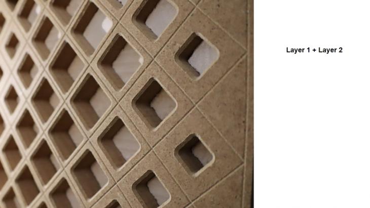 facade, zaha hadid, cnc milling, parametric design, design, digital fabrication, aman sasan
