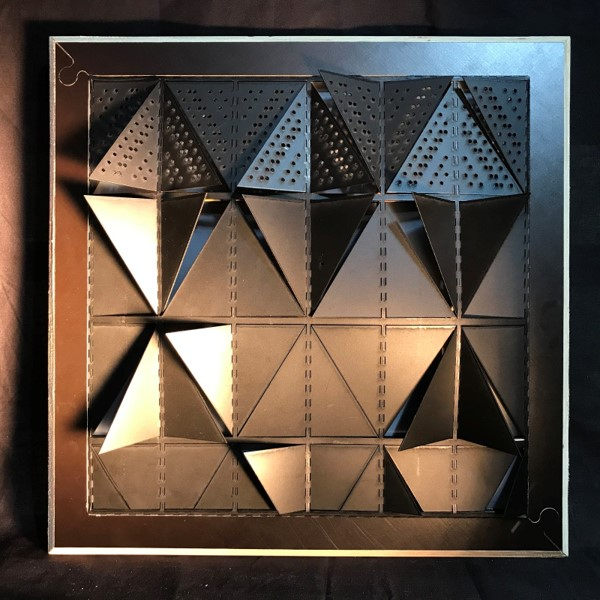 laser cut model of Syddansk Universitet en Kolding (Kolding, Denmark) 2014 Henning Larsen Architects, iaac , iaac blog post
