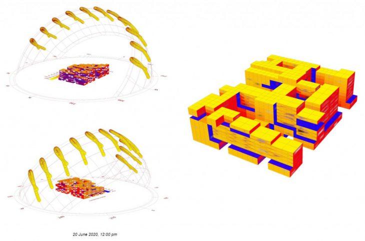 Sun Analysis - Porous Complex